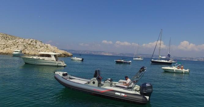 Location Semi-rigide à Vieux-Port de Marseille - Bsc 70 RS