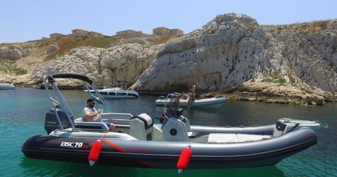 Bsc 70 RS entre particuliers et professionnel à Vieux-Port de Marseille
