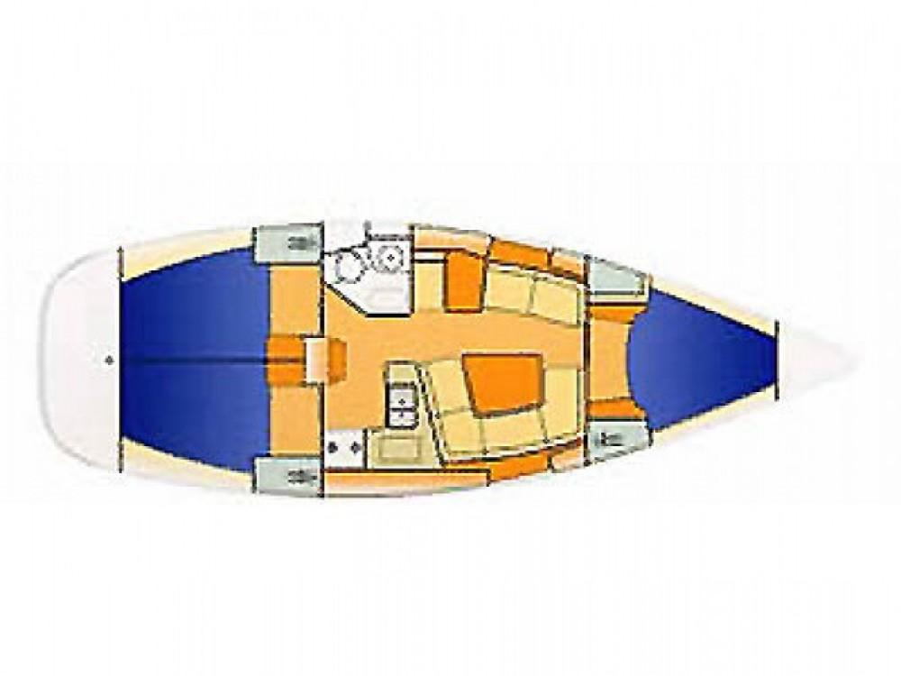 Location bateau Jeanneau 37 à Eastleigh sur Samboat