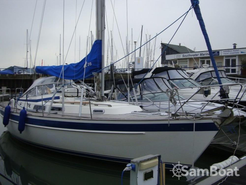 Location bateau Eastleigh pas cher Hallberg Rassy 36