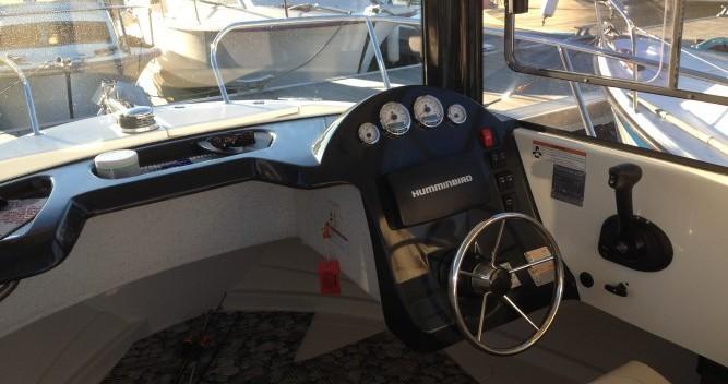 Louer Bateau à moteur avec ou sans skipper Quicksilver à Douarnenez