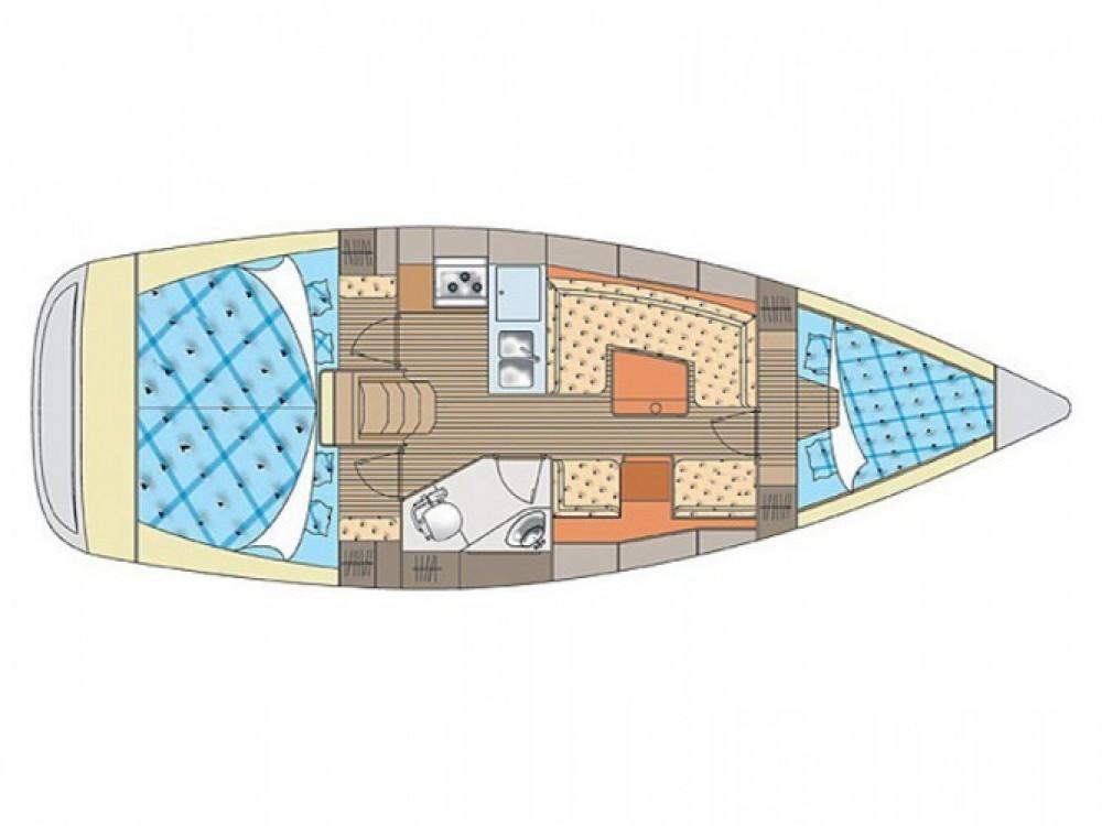 Location bateau Nigrán pas cher Elan 34