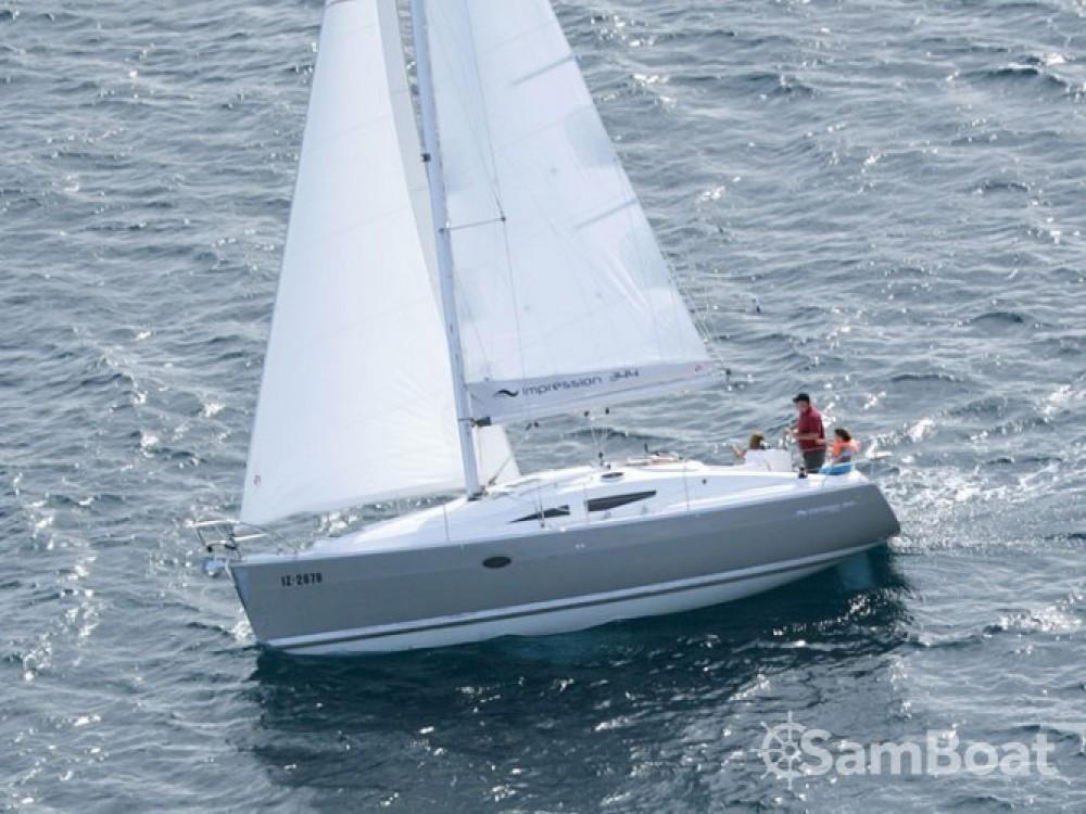 Location bateau Elan Elan 34 à Nigrán sur Samboat
