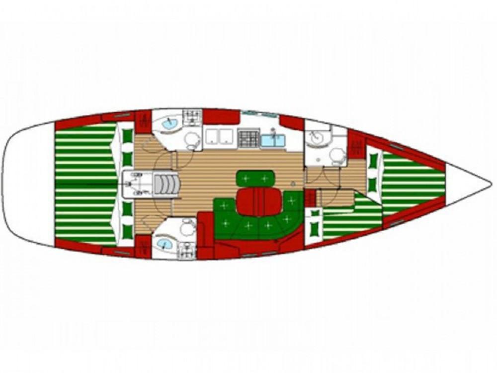 Louez un Bénéteau Oceanis 423 à Castiglione della Pescaia