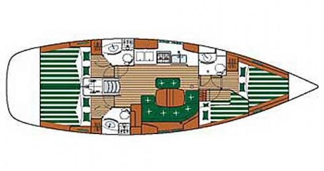 Louer Voilier avec ou sans skipper Bénéteau à Castiglione della Pescaia