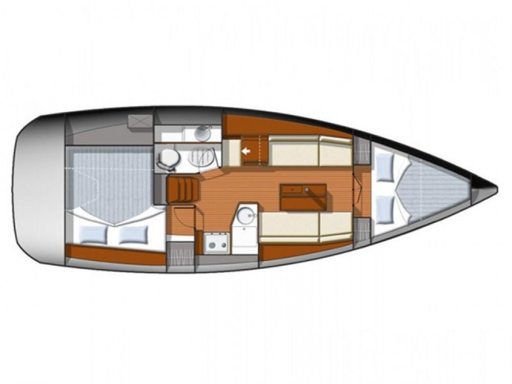 Location yacht à Castiglione della Pescaia - Jeanneau Sun Odyssey 33i sur SamBoat