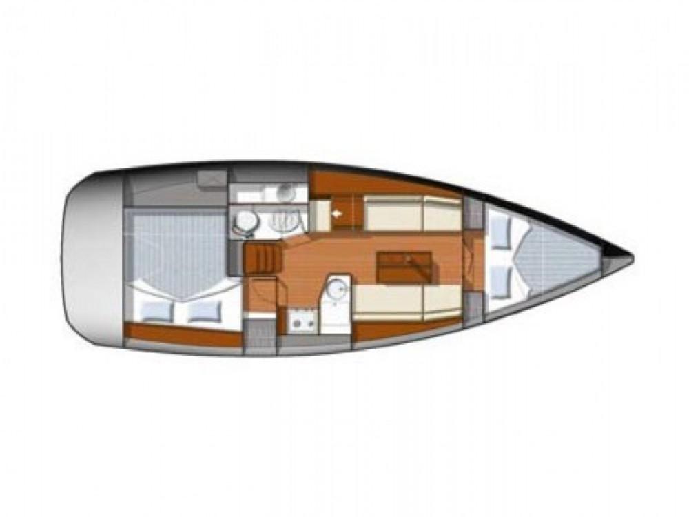 Location bateau Castiglione della Pescaia pas cher Sun Odyssey 33i