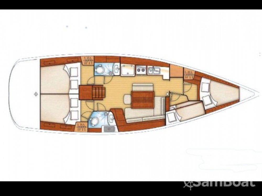 Location bateau Porto Lotti pas cher Cyclades 43.3