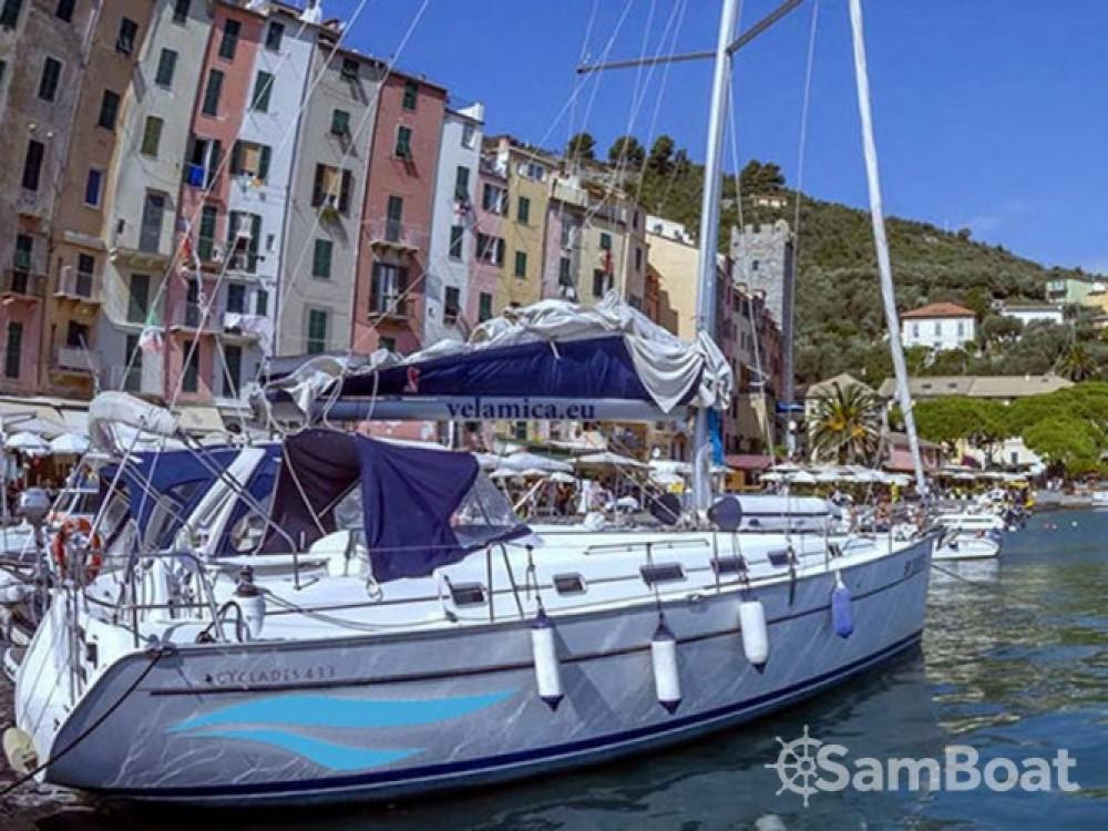 Bénéteau Cyclades 43.3 entre particuliers et professionnel à Porto Lotti