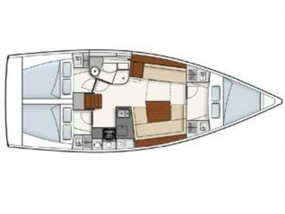 Location yacht à ACI Marina Pula - Hanse Hanse 385 sur SamBoat