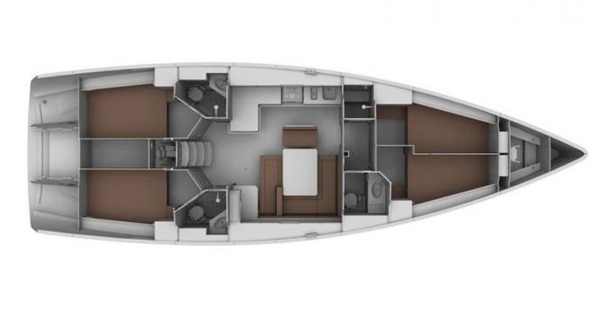 Location bateau Bavaria Cruiser 45 à San Benedetto del Tronto sur Samboat