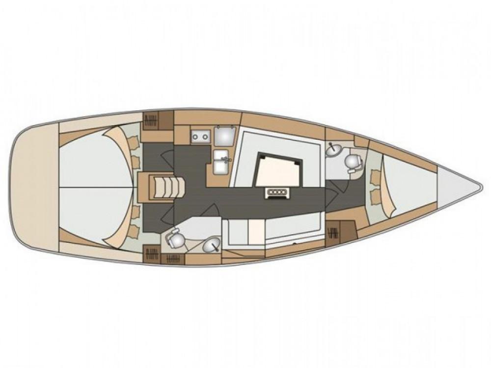 Location bateau San Benedetto del Tronto pas cher Elan 40