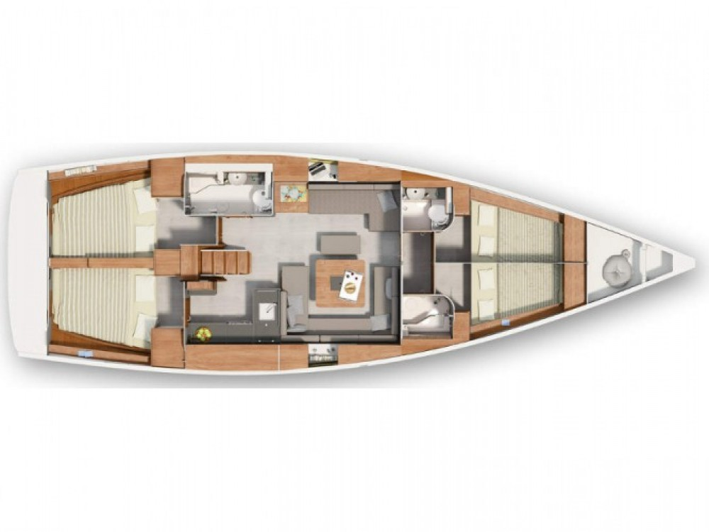 Location bateau Hanse Hanse 455 à ACI Marina Pula sur Samboat