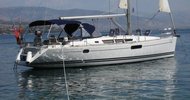 Boat rental Marina Gouvia cheap Sun Odyssey 44i