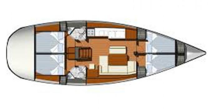 Boat rental Jeanneau Sun Odyssey 44i in Marina Gouvia on Samboat