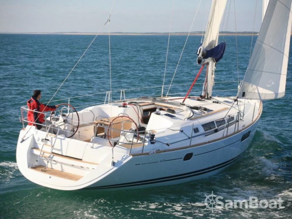 Rental Sailboat in Marina Gouvia - Jeanneau Sun Odyssey 44i