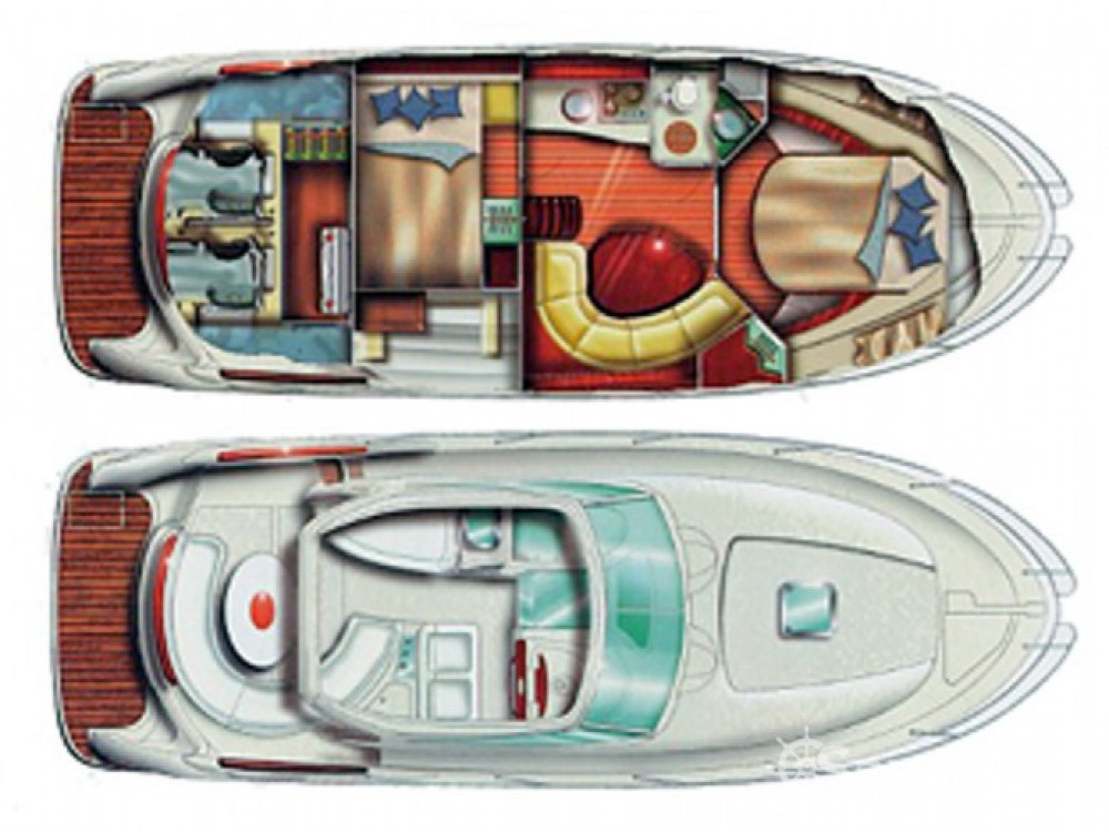 Location bateau Sant Antoni de Portmany pas cher Prestige 34