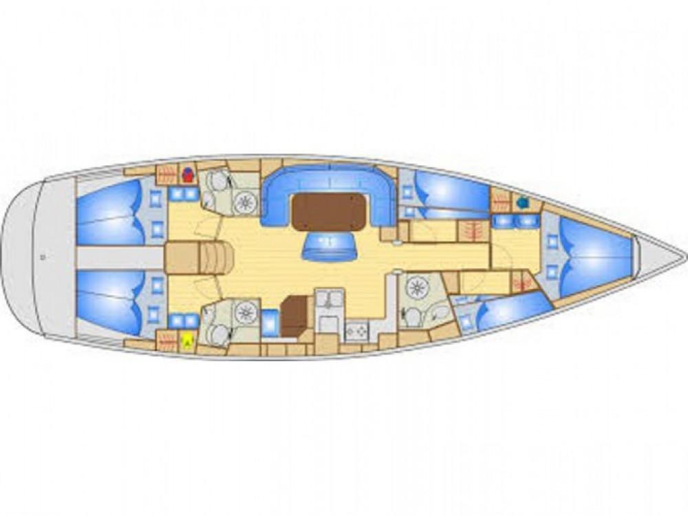 Location bateau Castiglioncello pas cher Bavaria 50 Cruiser