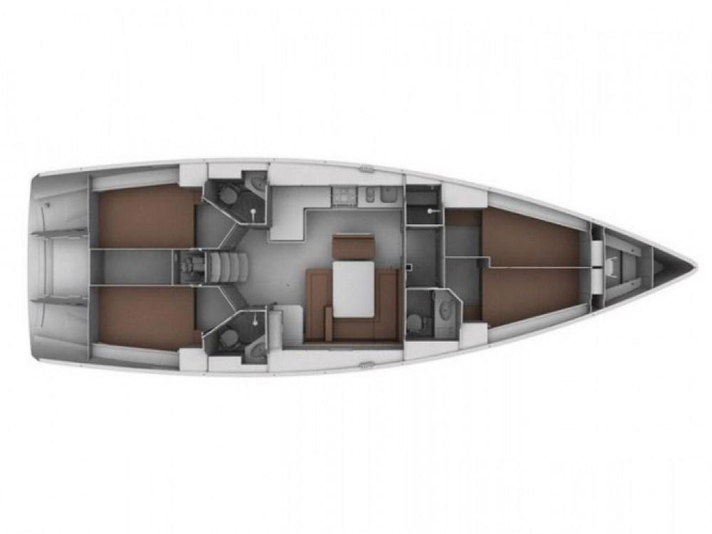 Location Voilier à Marina Gouvia - Bavaria Bavaria 45 Cruiser