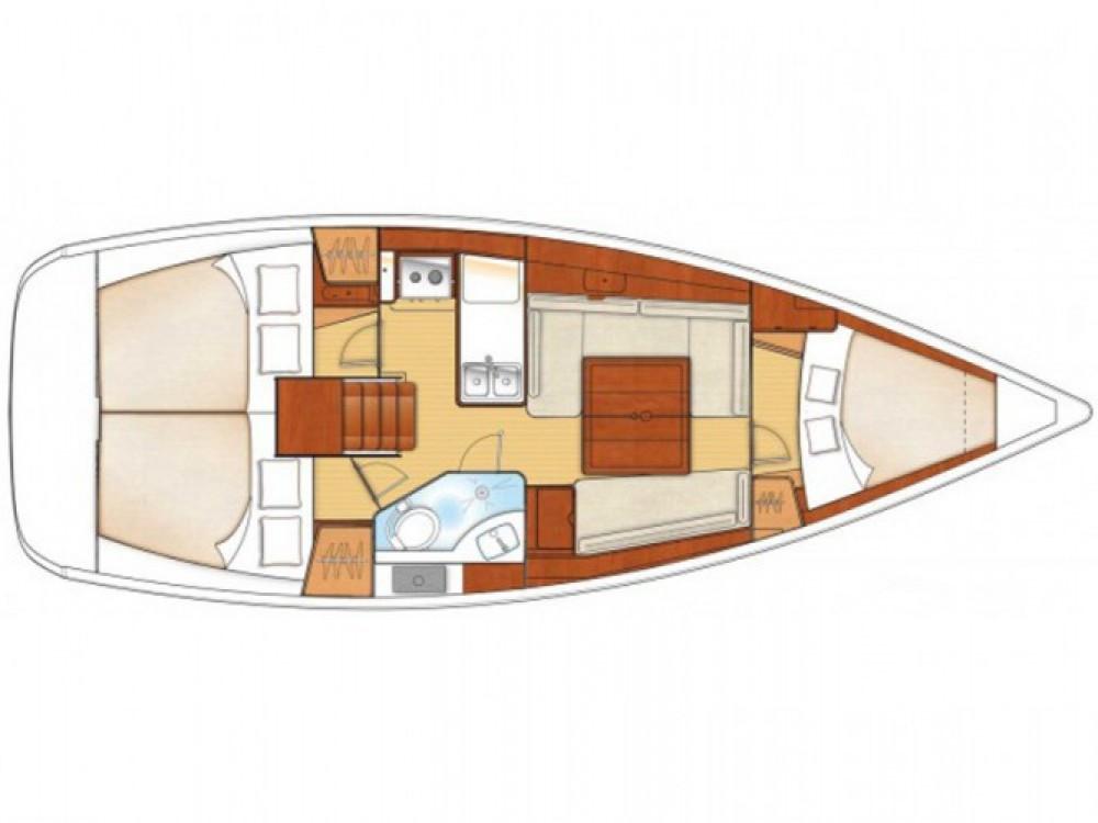 Location bateau Leucade pas cher Oceanis 34