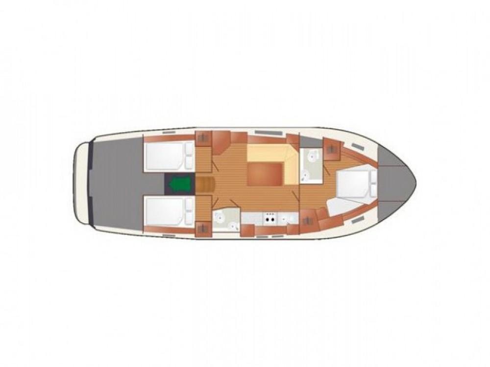 Location bateau Port PTTK Wilkasy pas cher Nautika 1300 Exc
