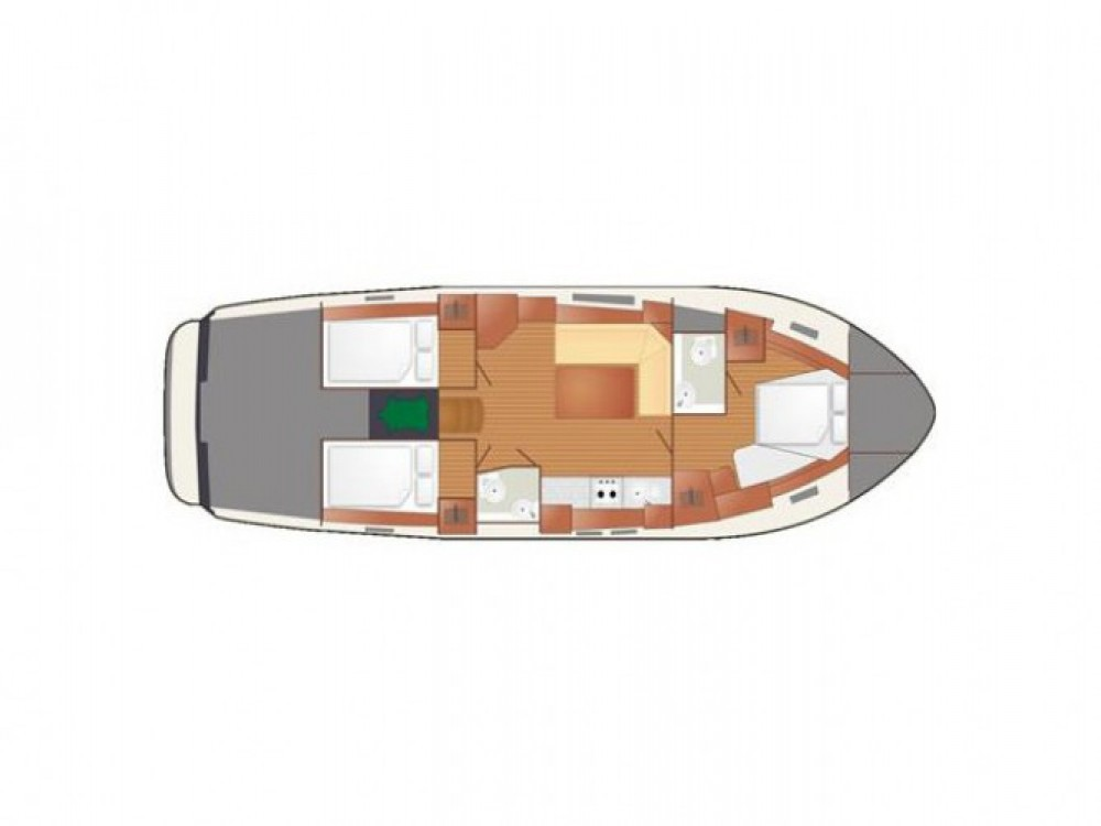 Location bateau Delphia Nautika 1300 Exc à Port PTTK Wilkasy sur Samboat