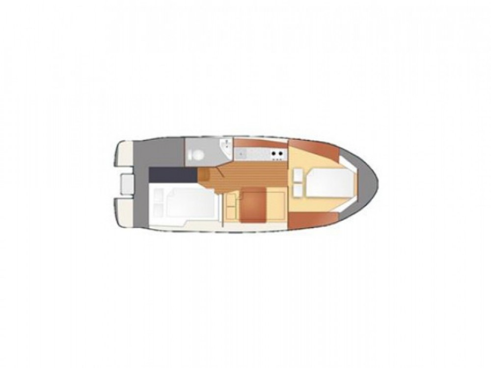 Location yacht à Port PTTK Wilkasy -  Titanium 818 sur SamBoat