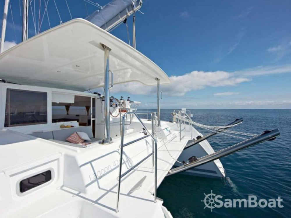 Location yacht à Leucade - Lagoon Lagoon 421 sur SamBoat