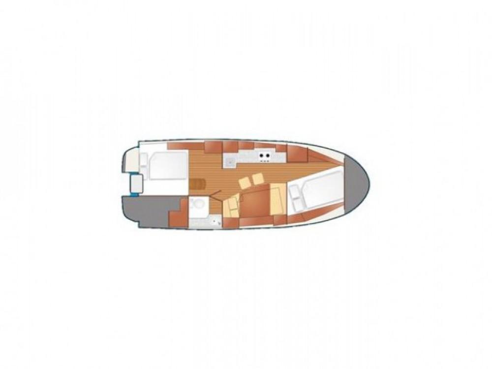 Location bateau Port PTTK Wilkasy pas cher Nexus 850