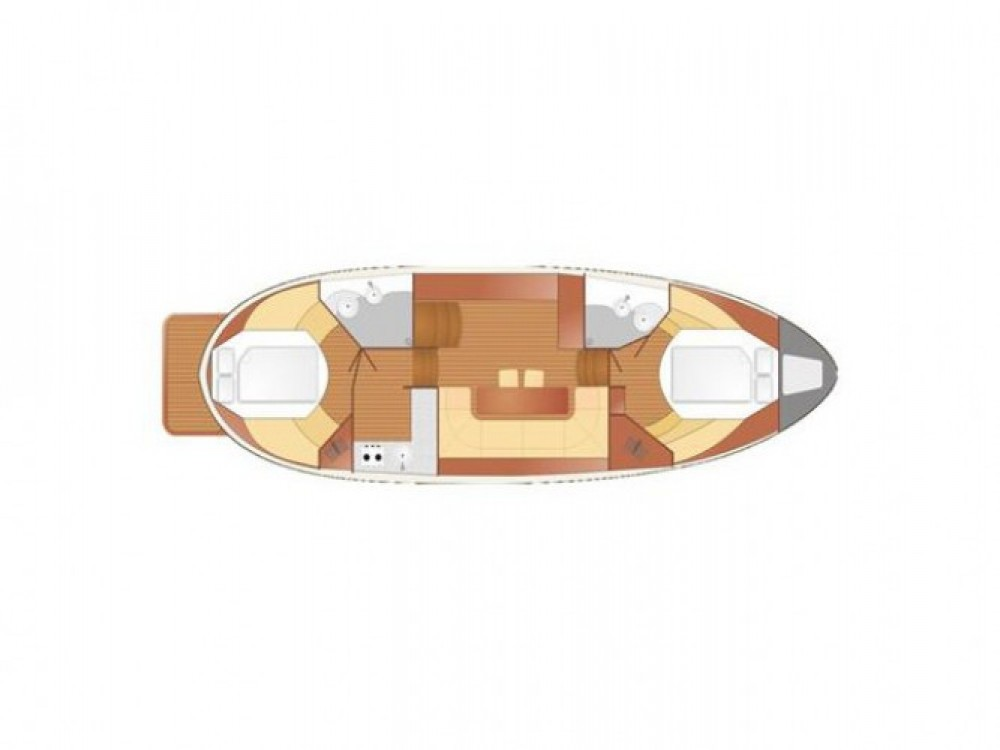 Louer Bateau à moteur avec ou sans skipper  à Port PTTK Wilkasy