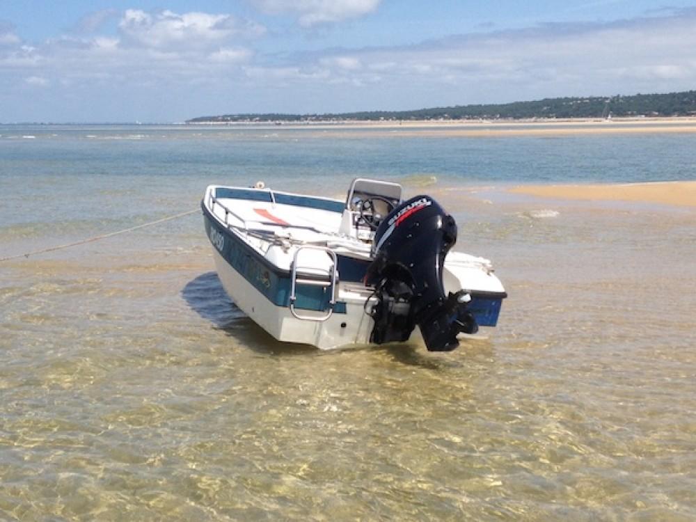 Noleggio barche Lège-Cap-Ferret economico Rio 450 cross