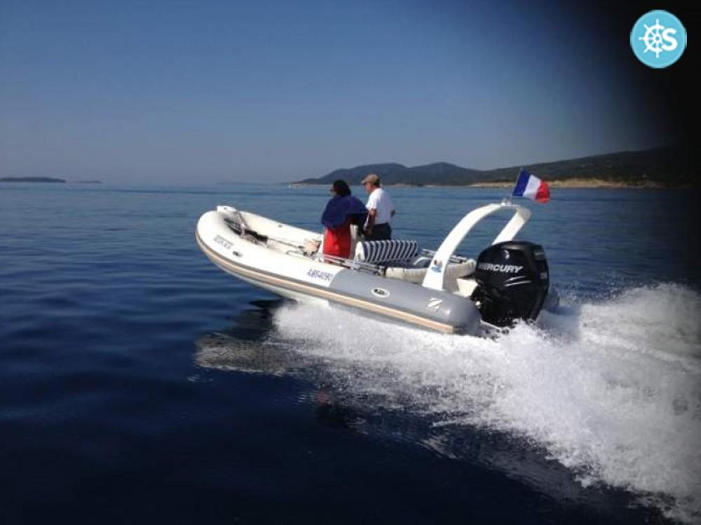 Huur Rubberboot met of zonder schipper Zodiac in Porto-Vecchio