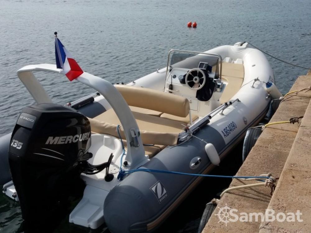 Verhuur Rubberboot in Porto-Vecchio - Zodiac Medline