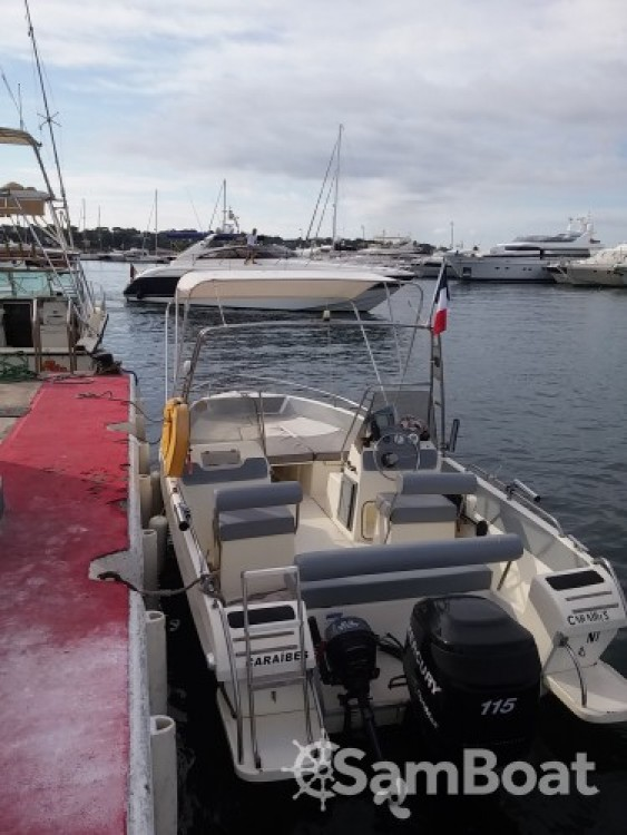 Verhuur Motorboot in Antibes - Ultramar OPEN 570