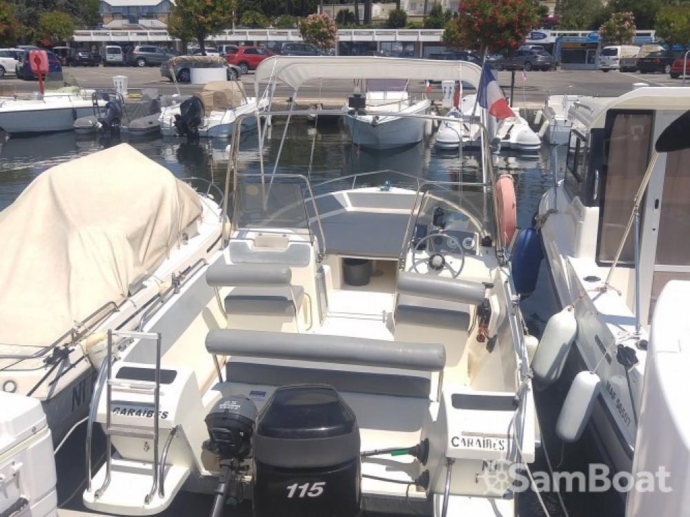 Boat rental Ultramar OPEN 570 in Antibes on Samboat