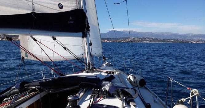 Jeanneau Sun Odyssey 36i entre particuliers et professionnel à Cannes