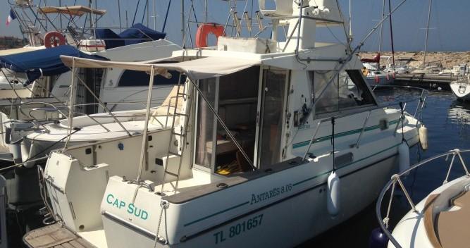 Noleggio yacht Six-Fours-les-Plages - Bénéteau Antares 805 Fly su SamBoat