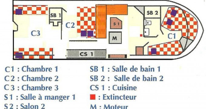 Location Péniche à Sète - Alpha Craft Concorde