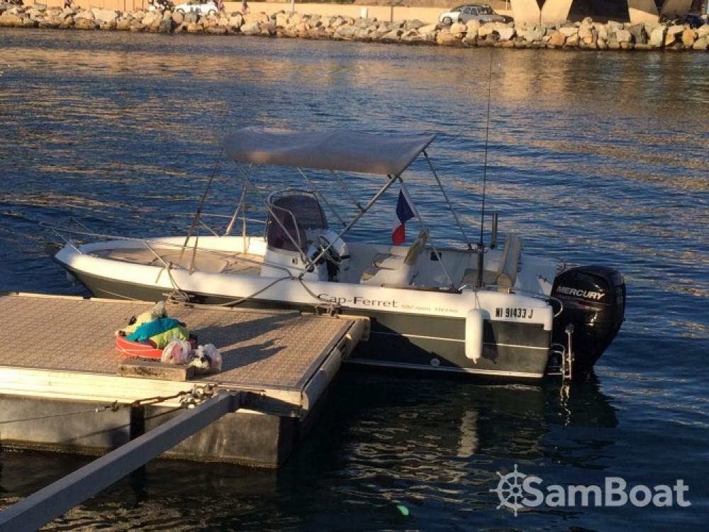 B2 Marine Cap Ferret 502 Open Swing te huur van particulier of professional in Mandelieu-la-Napoule