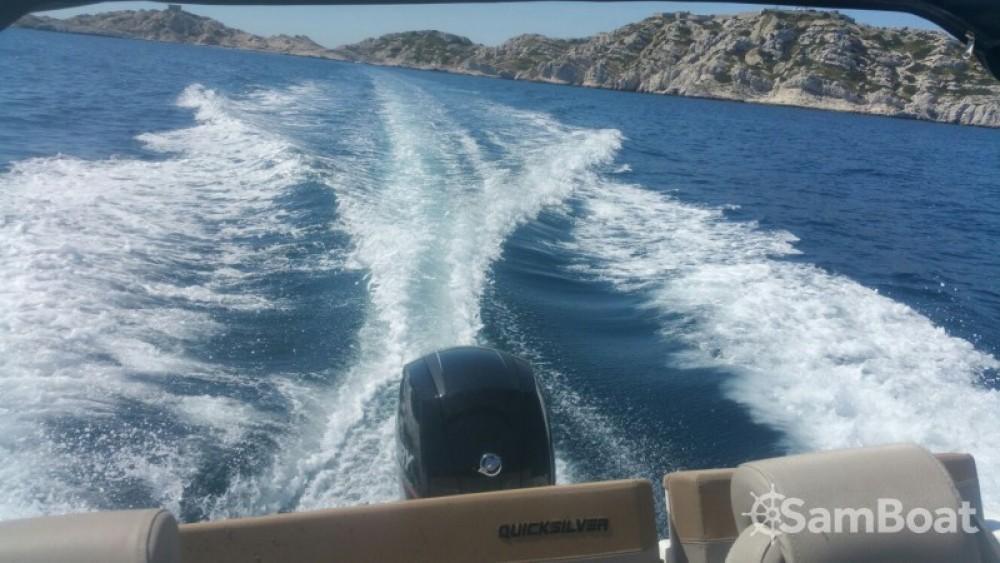 Motorboot mieten in Marseille - Quicksilver Quicksilver 605 Sundeck