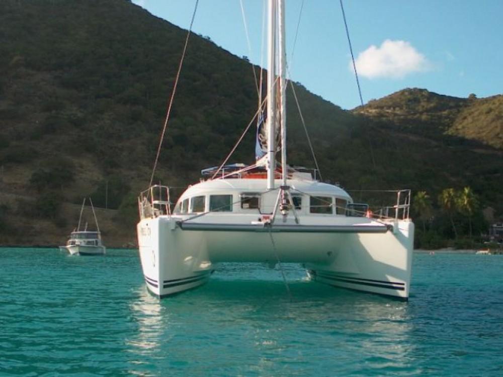 Huur Catamaran met of zonder schipper Lagoon in Saint-François