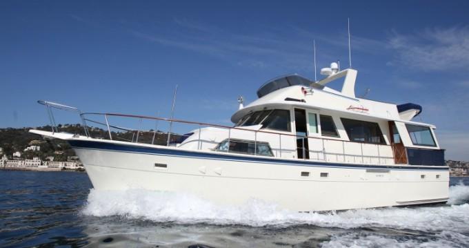 Location Yacht Hatteras avec permis