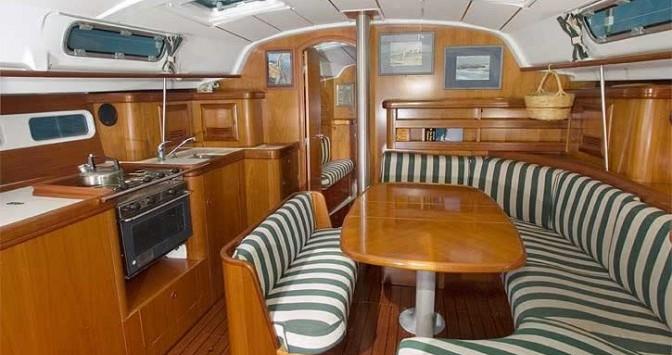 Location bateau Grand-Bourg pas cher Oceanis 411 Clipper