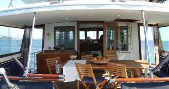 Location yacht à Antibes - Hatteras M/Y 56' sur SamBoat