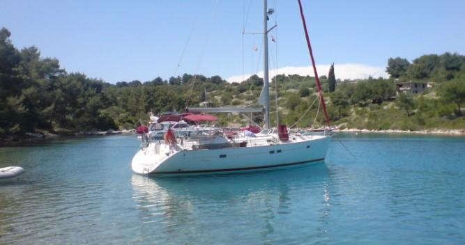 Location bateau Bénéteau Oceanis 411 Clipper à Grand-Bourg sur Samboat