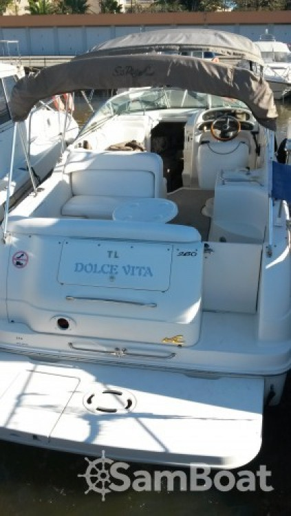 Bootverhuur Mandelieu-la-Napoule goedkoop Sea Ray 260 Sundancer