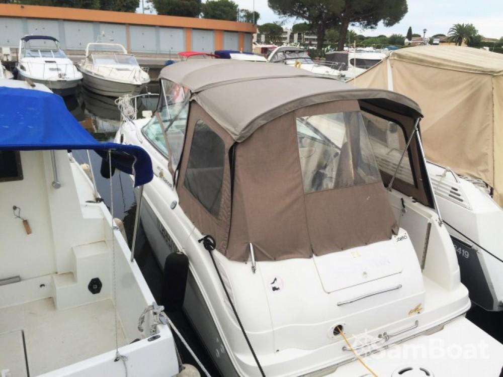 Verhuur Motorboot in Mandelieu-la-Napoule - Sea Ray Sea Ray 260 Sundancer
