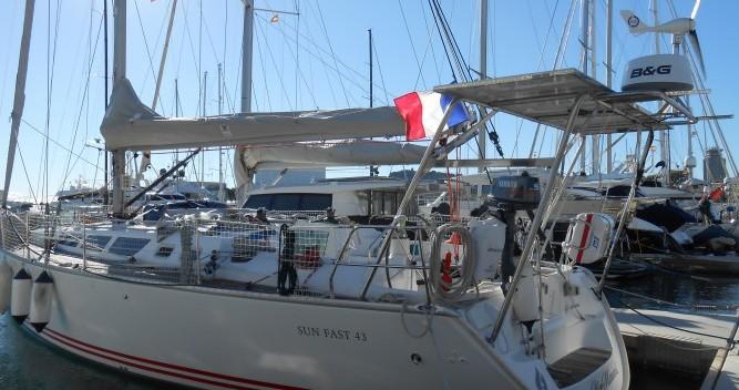Location yacht à Bandol - Jeanneau Sun Fast 43 sur SamBoat