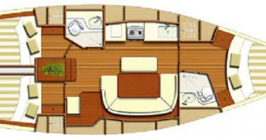 Boat rental Les Sables-d'Olonne cheap Dufour 385 Grand Large