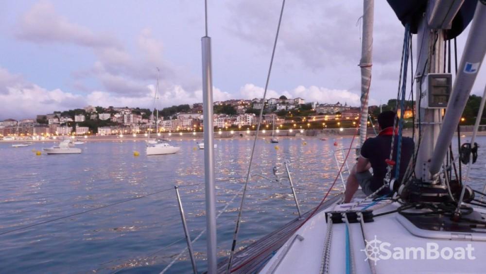 Louer Voilier avec ou sans skipper Bénéteau à Saint-Sébastien
